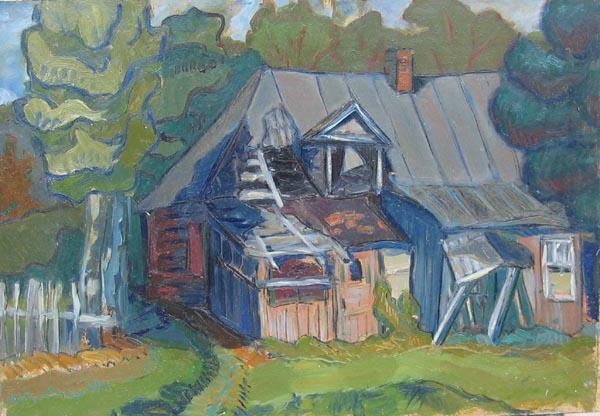 Деревенский дом,2001