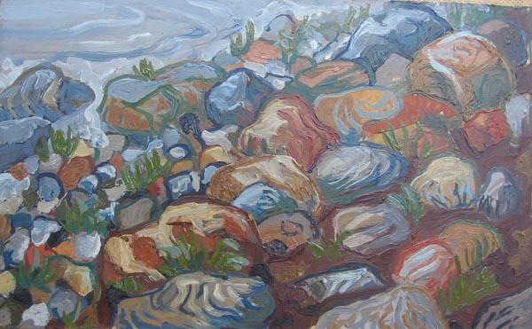 Соловки. Камни. 2002