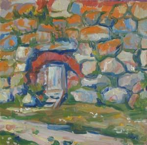 Соловки, стена. 2002