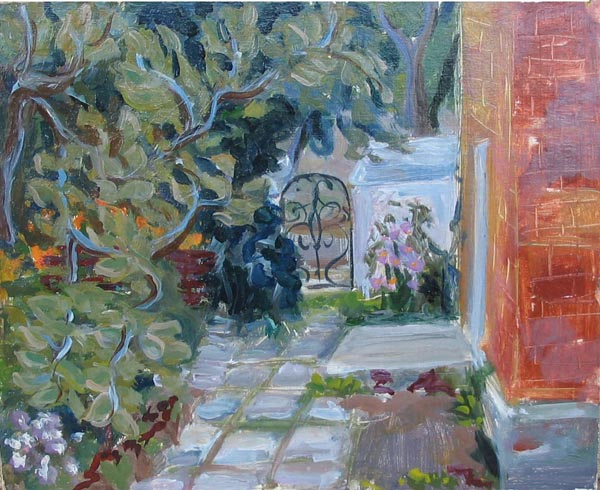 Псков. Дворик,2001