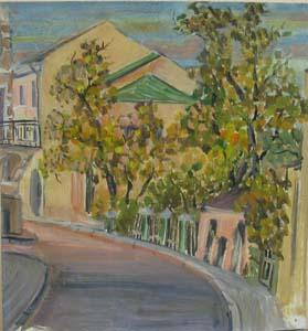 Москва.Глазовский переулок, 2001