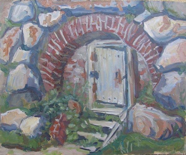Соловки. Дверь в стене. 2002