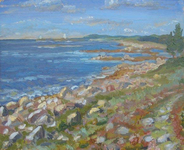Соловки. Голубое море.,2002