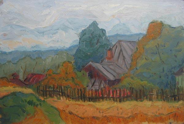 В деревне,2001