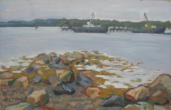 Соловки. Пристань. 2002