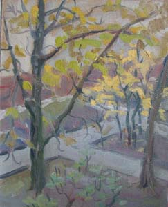 Осень. Во дворе. 2004