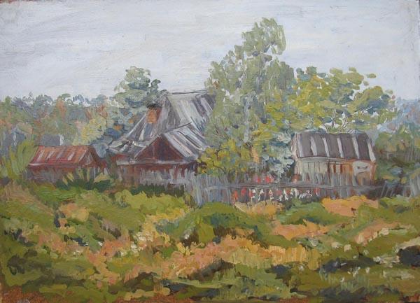 В деревне.2002